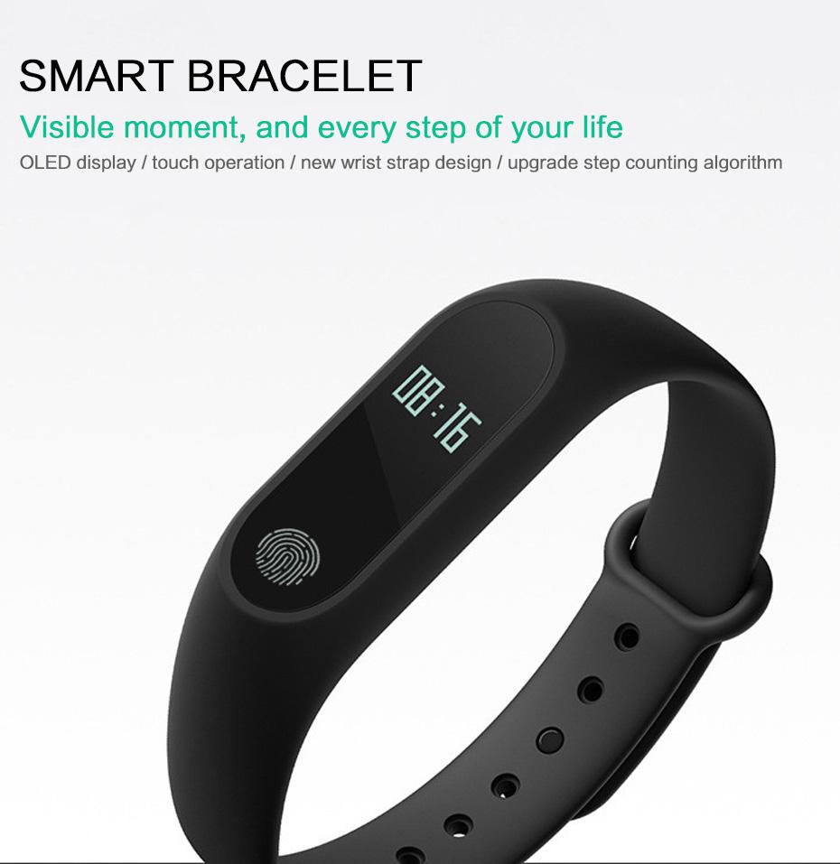 Buy Fitness Bracelet Waterproof Smart Bracelet Wristband Watch Mi