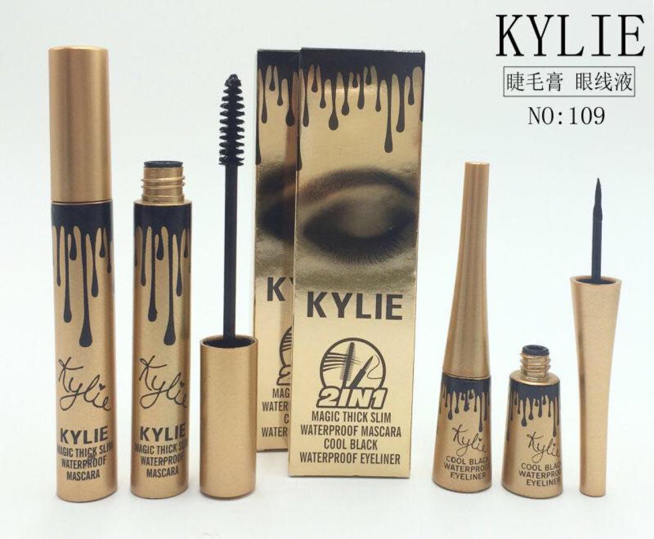 b13abcbf57f Buy kylie jenner 2 in 1 mascara set eyeliner birthday edition 3D ...