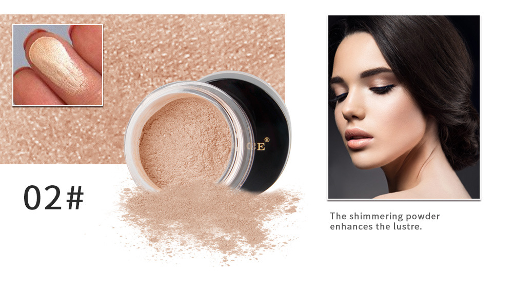 fed6fe3dec Buy Glitter Eye Loose Powder Highlighter Makeup Shimmer Gold Silver ...