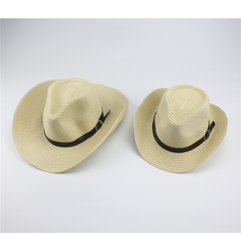 09109a03c Buy Adult And Children Classic Cattleman Straw Cowboy Hat White ...
