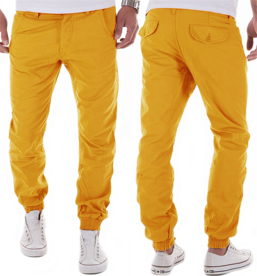 b455dbc26a Buy Men Spring and Autumn Cotton Casual Harlan Pants Trousers ...