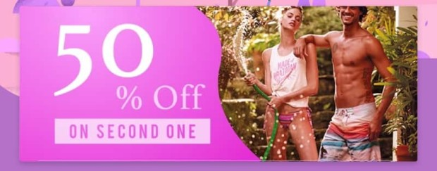 50% off on second one