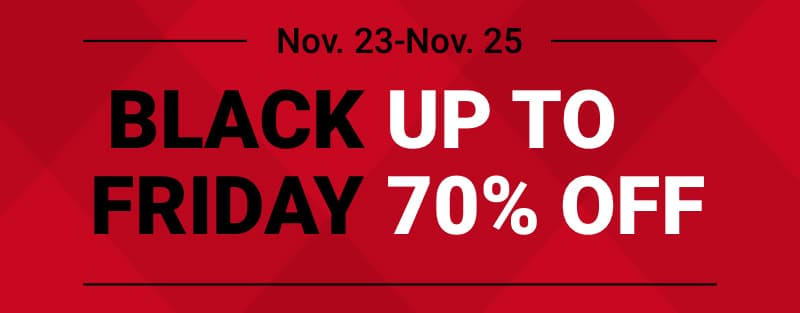 Black Friday Nov. 23