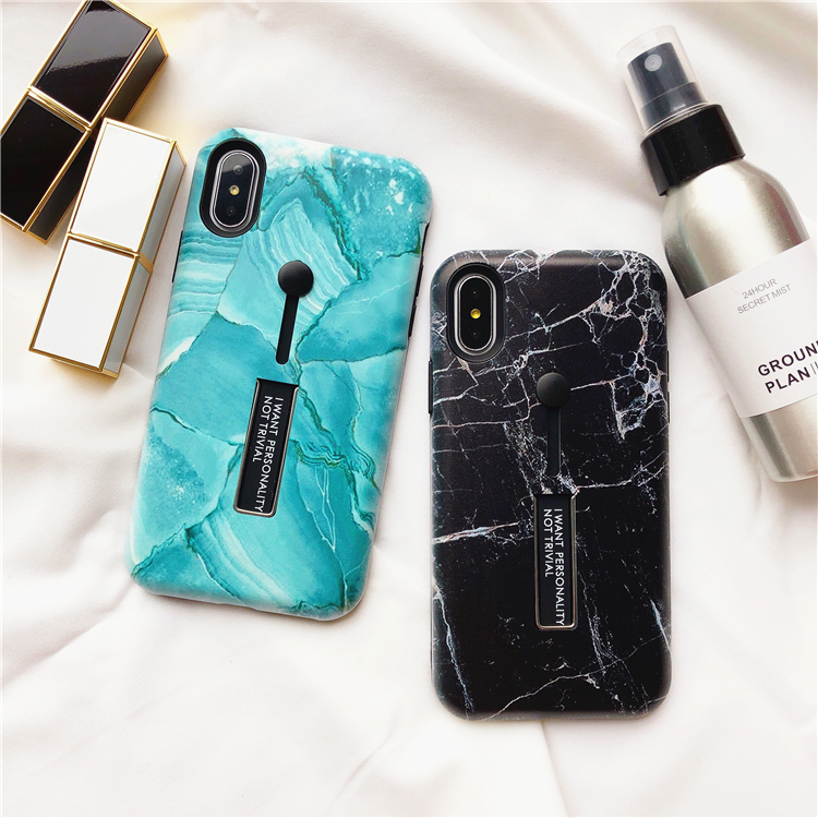 ... Marble Stone + Finger Ring Stand Holder  Style    2018 Hot Selling  Classical Luxury Retro Fashion Trendy Mobile Phone Case Cover Shell e9da18cee116