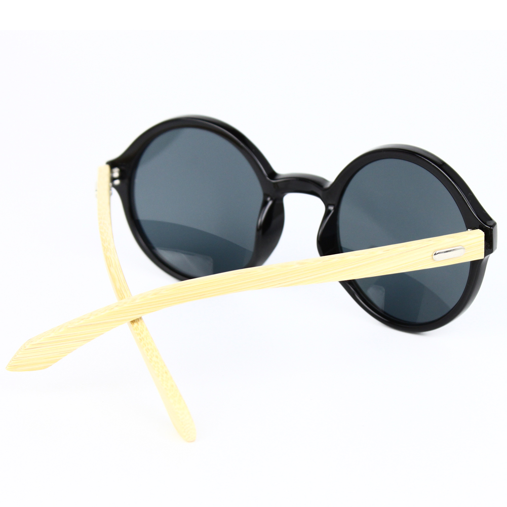 363950bf978 Buy Round Frame Retro Sunglasses Vintage Circle Eyeglasses Natural ...