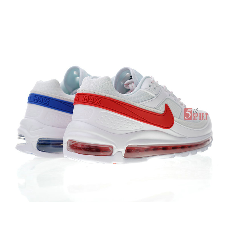 Latest Nike AIR MAX 97 BW X SKEPTA SK AO2113 100 Collaboration What The Bullet Running Shoes Men Shoes