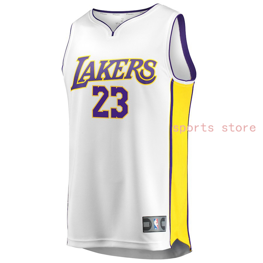 wholesale dealer 91f13 fa4f2 Buy Los Angeles Lakers LeBron James 23# Nike White Swingman ...
