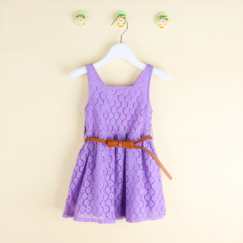 64a5d0895 Buy sweet shop Summer Lace Vest Girls Dress Baby Girl Cotton Red ...