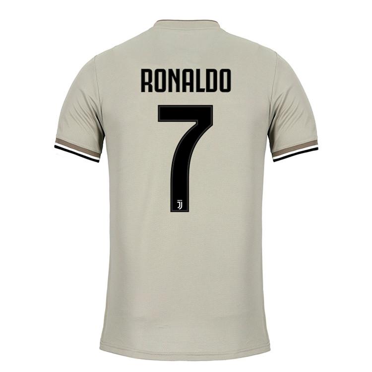 38cddf830 Buy Serie A Juventus 18-19 new soccer uniform RONALDO 7 HIGUAIN 9 ...