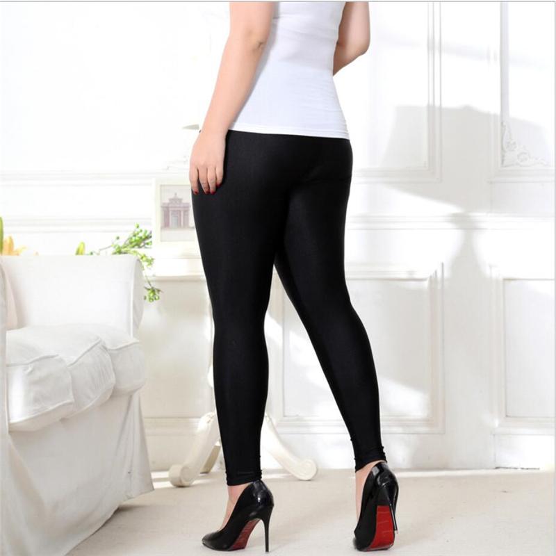 5fd702c58 Buy Hot Selling Leggings Women Thin Black Shiny Pant Legging Large ...