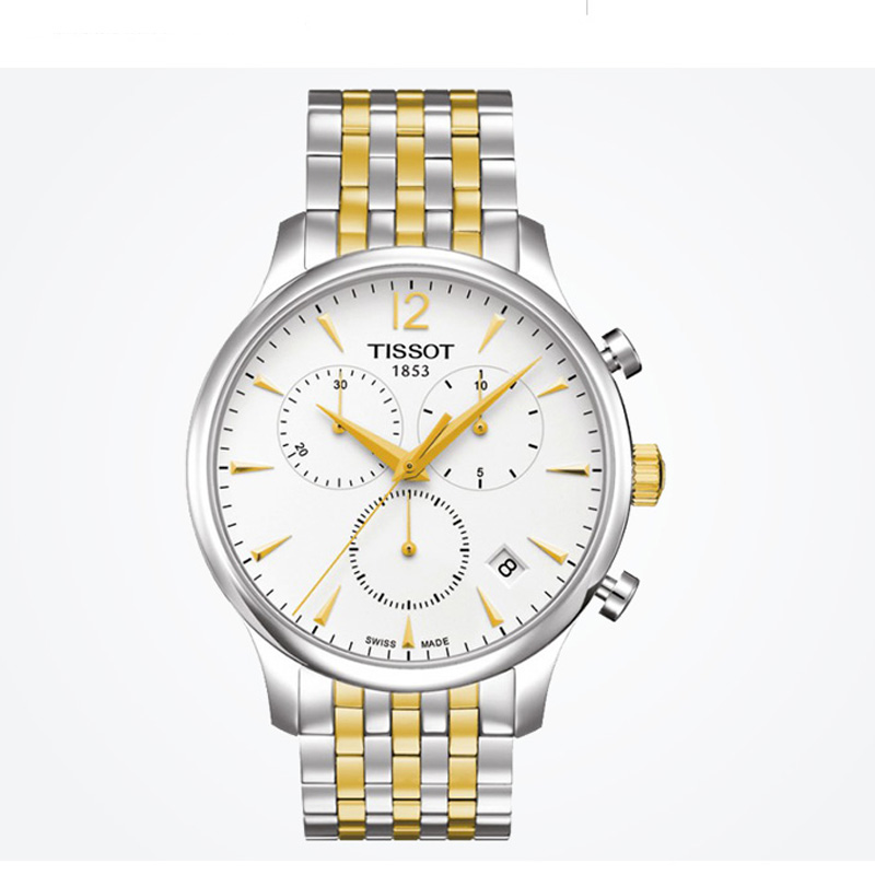 00e771f6da9 Buy Luxury brand Tissot men s watch T-Classic Tradition Chronograph ...