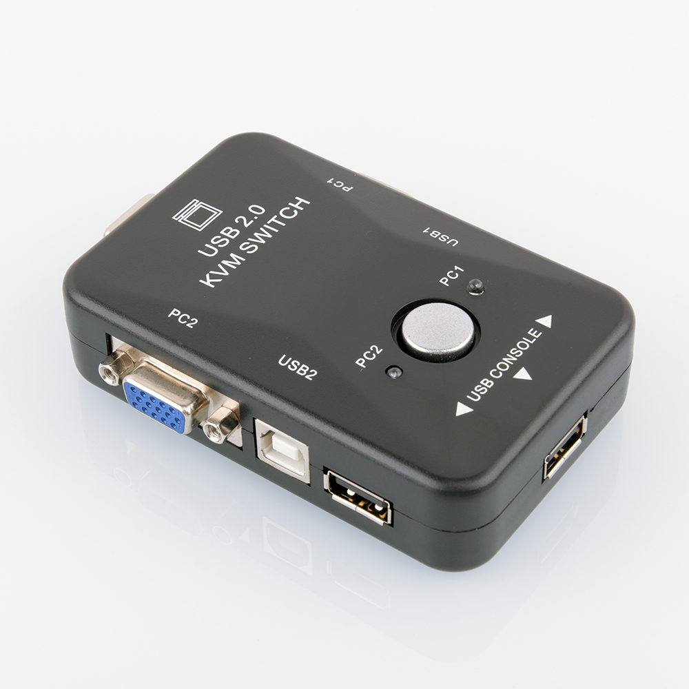 Buy VGA manual switcher two in and out out vga computer