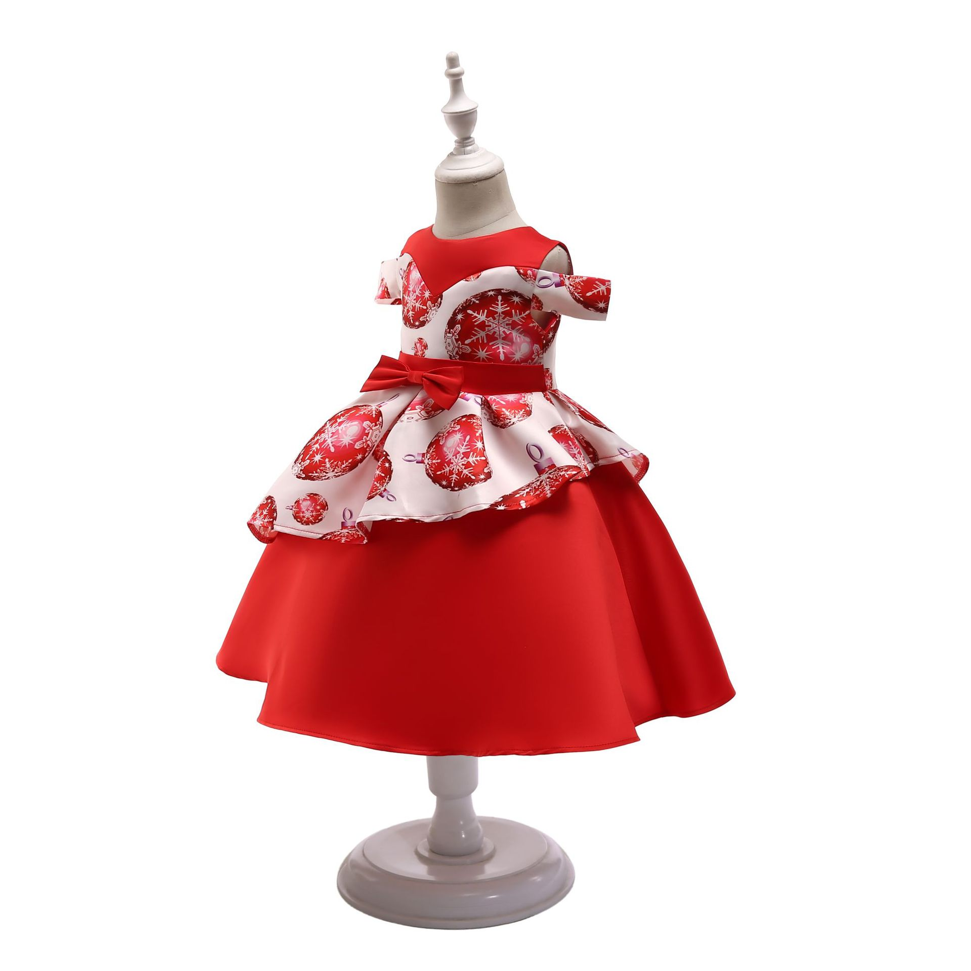 89c2f97b8 Buy Summer Fashion Girls New Year Festival Print Dress Princess ...