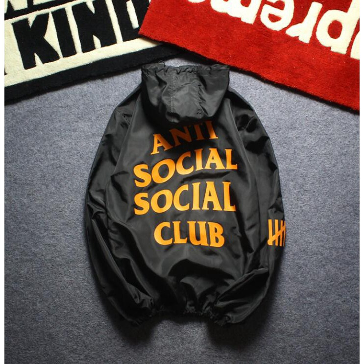 8b80eb1b0358 Buy ASSC Anti Social Club Men Windbreaker Jacket Coat Tide Brand ...