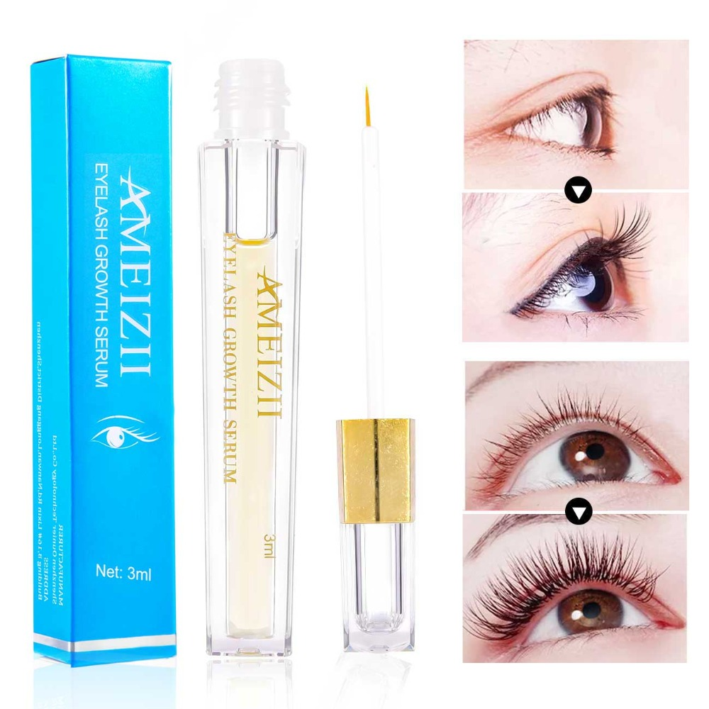 1dd4238c8fb Buy AMEIZII Eyelash Enhancer Eye Serum Longer Thicker Herbal Eyelash ...