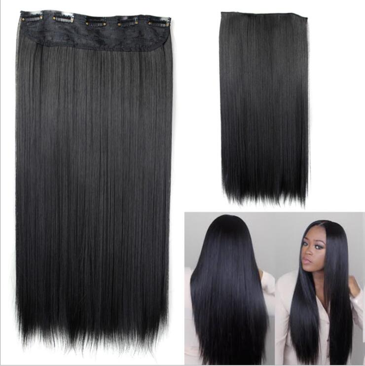 Buy 100g Per Bundles Natural Black Straight 24 Inches Top Quality