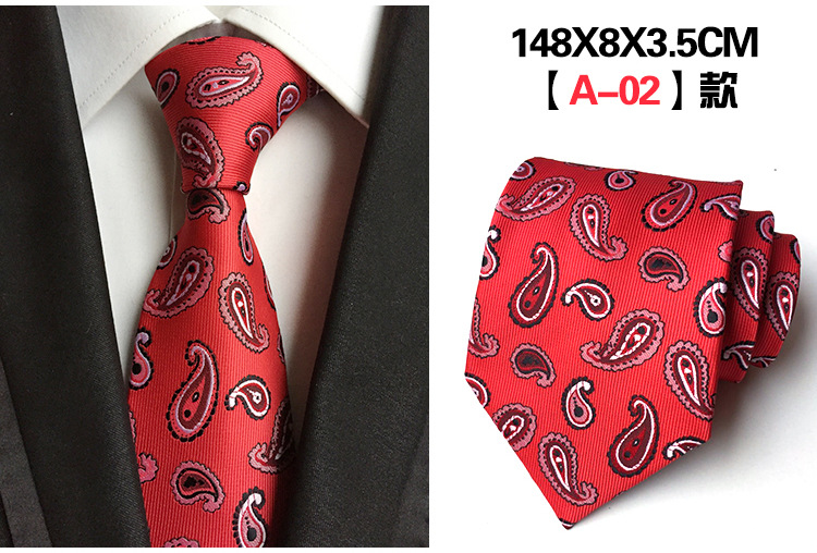 f95e81f645ab7 Buy Mens Ties Fashion Wedding 8 Cm Business Floral Paisley Tie Suits ...