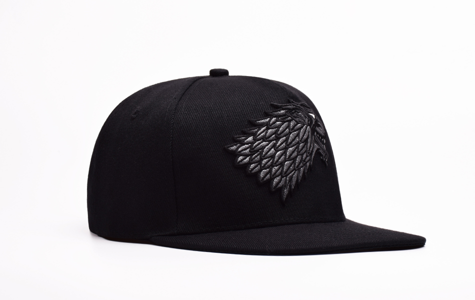 d7393578856312 Buy Wolf Hat Snapback Baseball Caps A Song Of Lce And Fire Winter Is ...