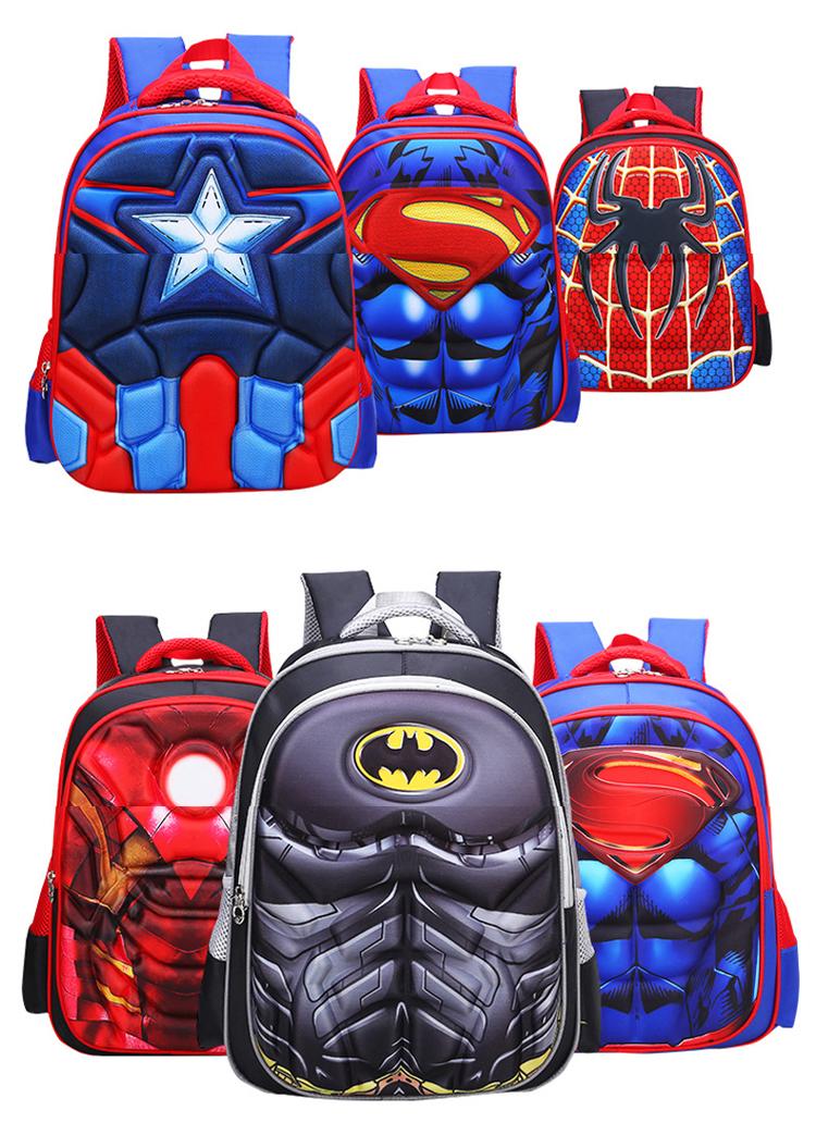 0283b3c913 Buy Children s Backpack Boys Captain America School Bags For Boys ...
