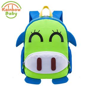 1e176911e9 Rainbow Baby Lovely Pig Kids   Babys lessure Bags School Bags for 2-8 Years  Bagpack Waterproof Backpack Children Birthday Gift