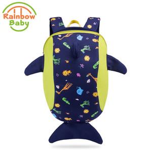c10b04ca5c Rainbow Baby Big Dolphin Kids   Babys Bags Anti Lost School Bags for 2-8  Years Boys and Girls Bagpack Waterproof Backpack