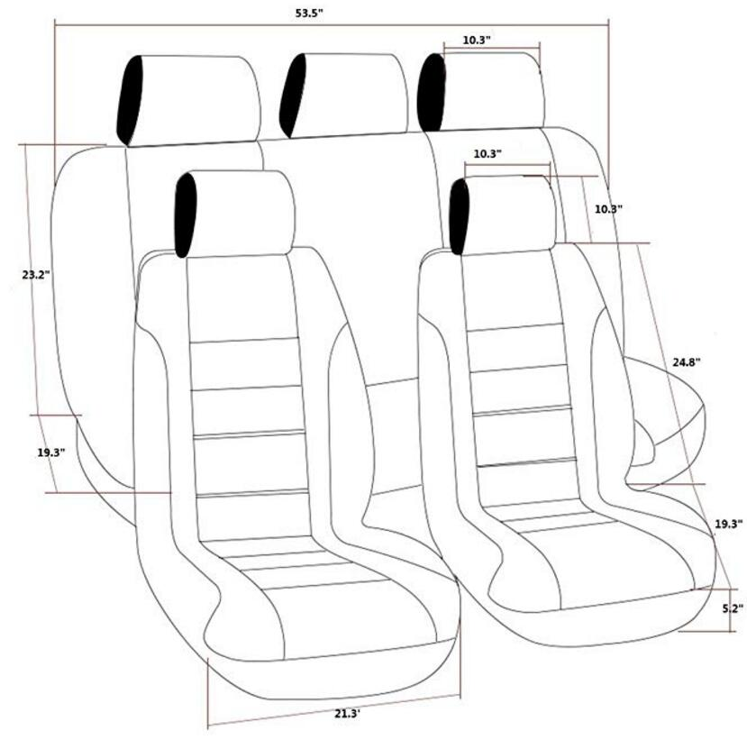 5 Point Harness Car Seat Foldable