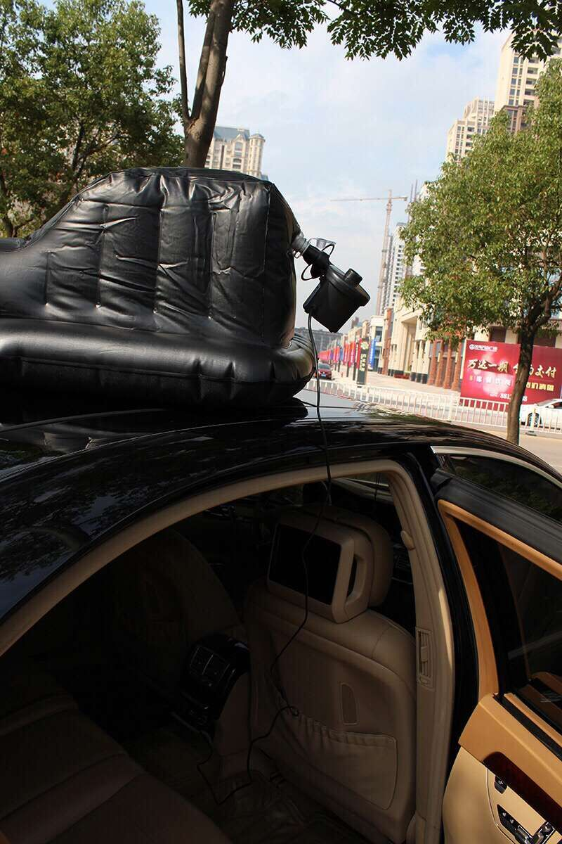 Buy Air bed for car for tourism inflatable with pump - KiKUU