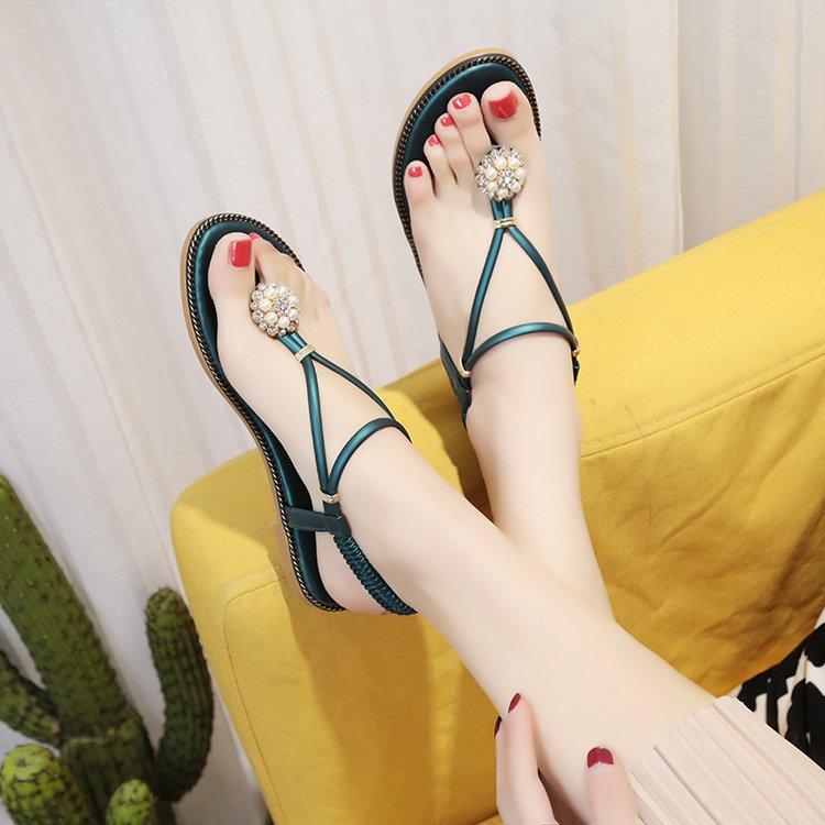37efa0b22b5bc Buy 2018 summer new toe sandals