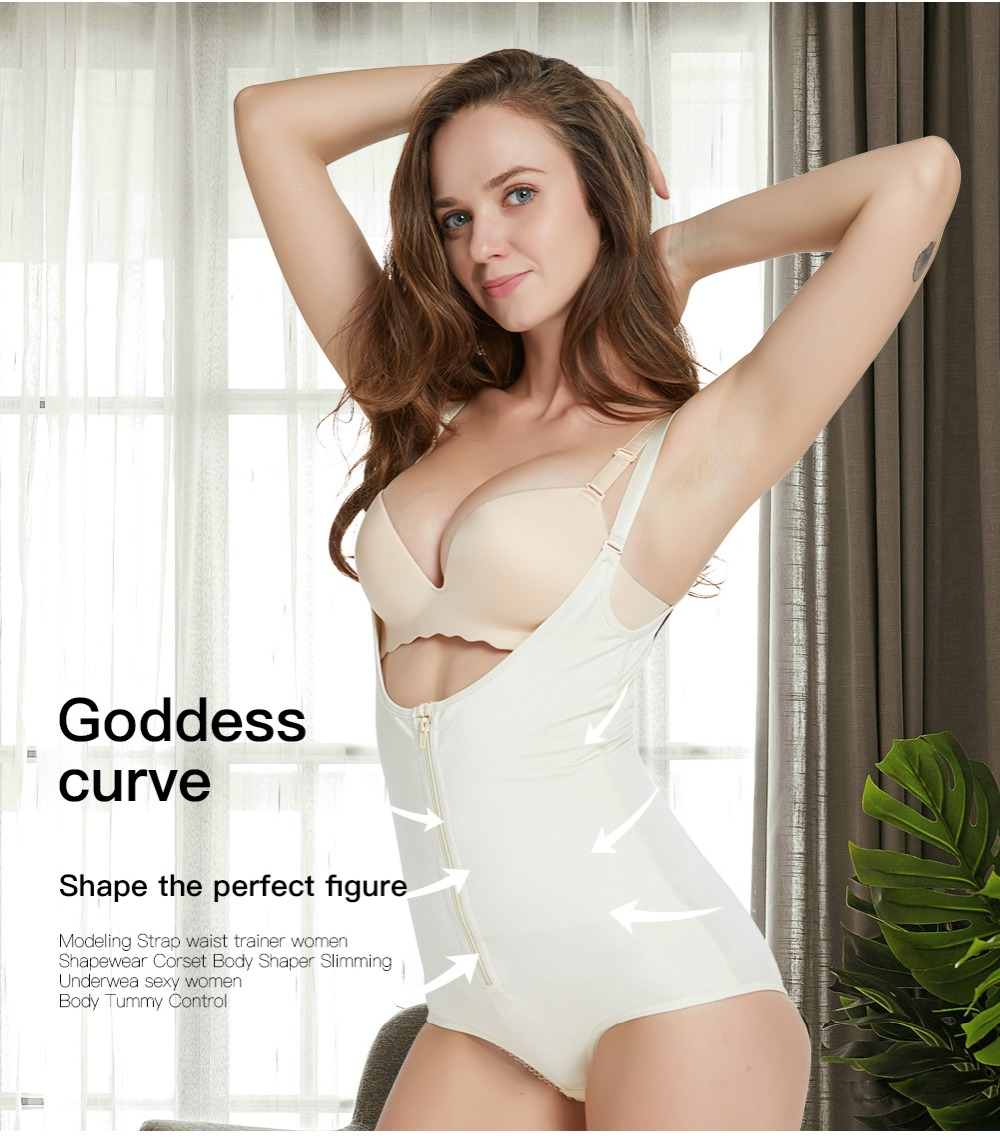22acee2a2aed0 Buy body shaper Corsets Modeling Strap waist trainer Girdles butt ...