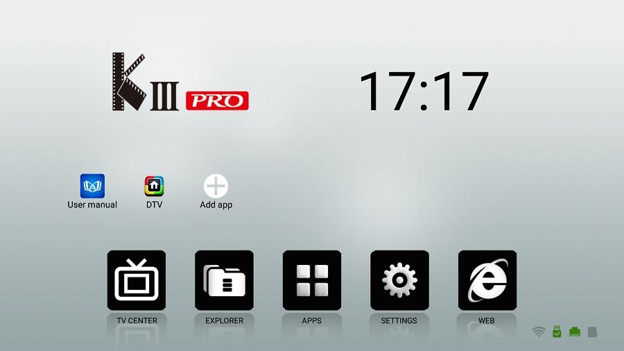Buy Original MECOOL KIII PRO Android 7 1 TV Box DVB T2 DVB
