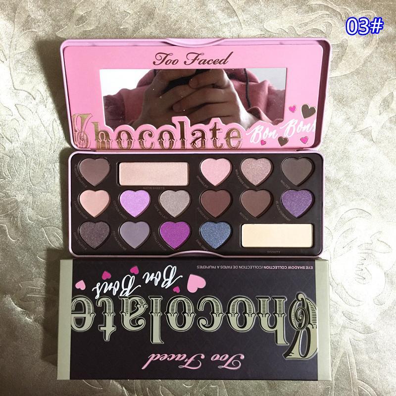 Buy Too Faced Makeup Eye Shadow Too Faced Chocolate Bar Semi Sweet
