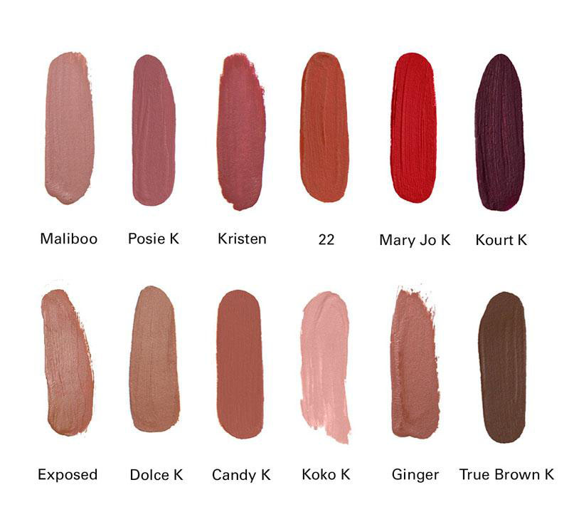 Kylie Jenner lip gloss Kylie 12 Days of Christmas Lipstick Vault Holiday Lipstick 12pcs set Matte Liquid Lipgloss Lips Makeup Hot sale