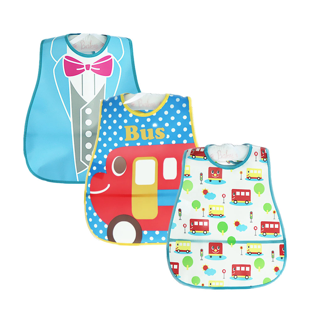da1a082a8a279 Buy Newly 3 PCS/LOT Baby Bibs Bandana Towel Scarf Babador Baberos ...