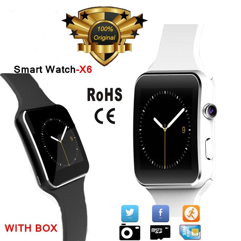 Buy X6 Smartwatch Sport Watch Phone for All Smart Phone with