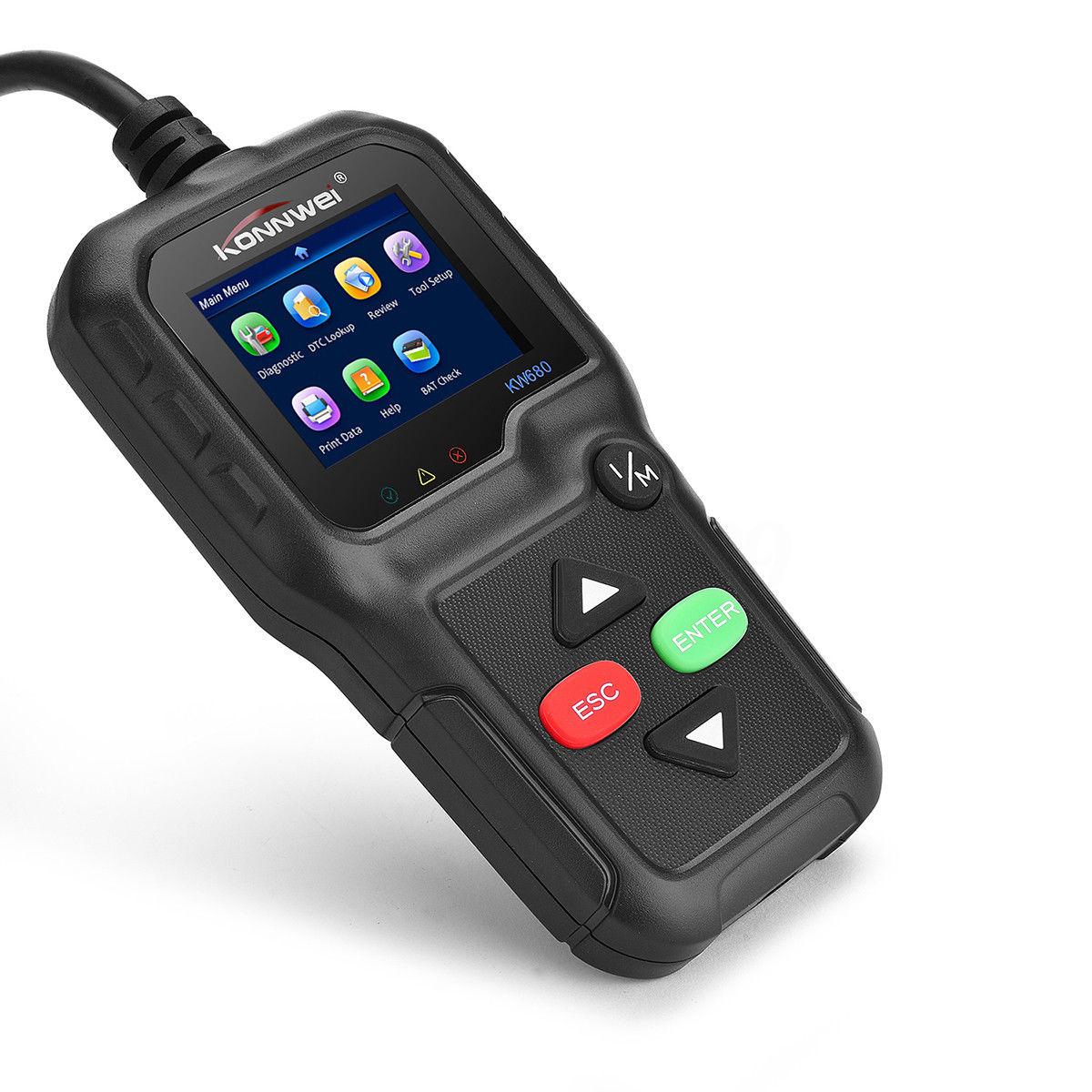 Buy KW680 Auto OBD2 OBDII Scanner Car Code Reader Diagnostic Engine