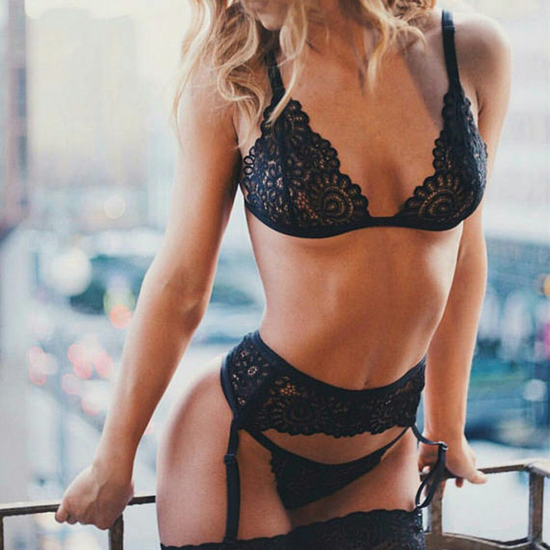 a9f959bb1cc ... Lace Underwear Temptation Three Point Suits Sexy Lingerie. NOTE  The  products has 5 size. If we not receive your messenger