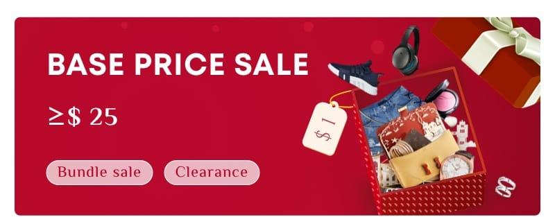 Base Price Sale