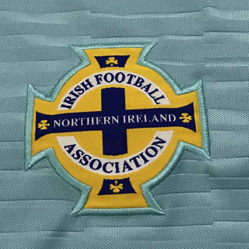 9017059c4b0 Thailand Northern Ireland soccer jersey 2018 world cup North Away Blue  Tuaisceart Eireann McNAIR K.LAFFERTY DAVIS football shirt