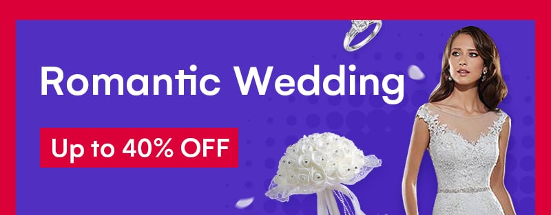 June Sale-Romantic Wedding