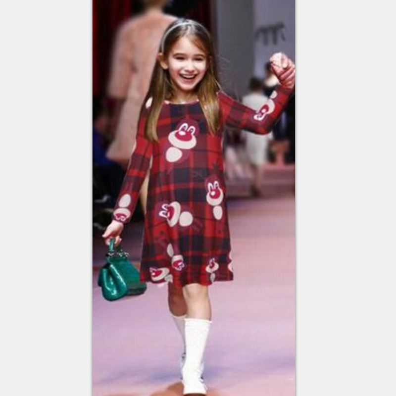 6f58a5c7b489 Buy Christmas Dress Mother Daughter Dresses Family Matching Clothes ...