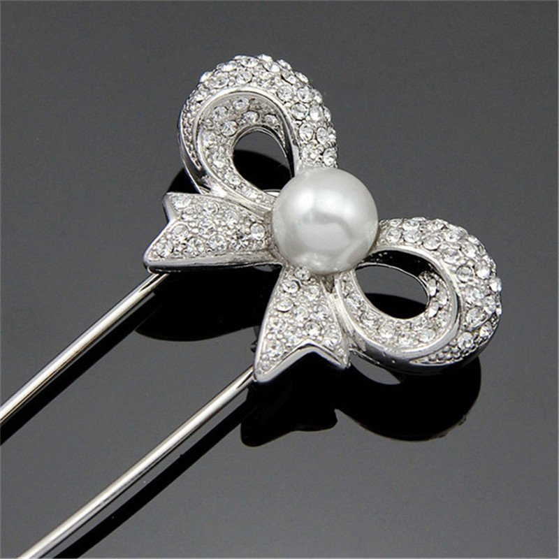 f2e997258c Buy Hijab Pins Silver Safety Pin Brooch Jewelry Fashion Luxury ...