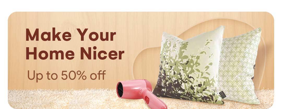 Make your home  nicer
