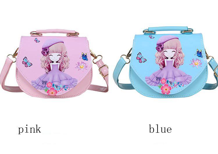 bf00a95586 Disney Frozen Children Messenger Bag Fashion High Quality Sophia Princess Children s  Bag Unique Design Birthday Present for Girl