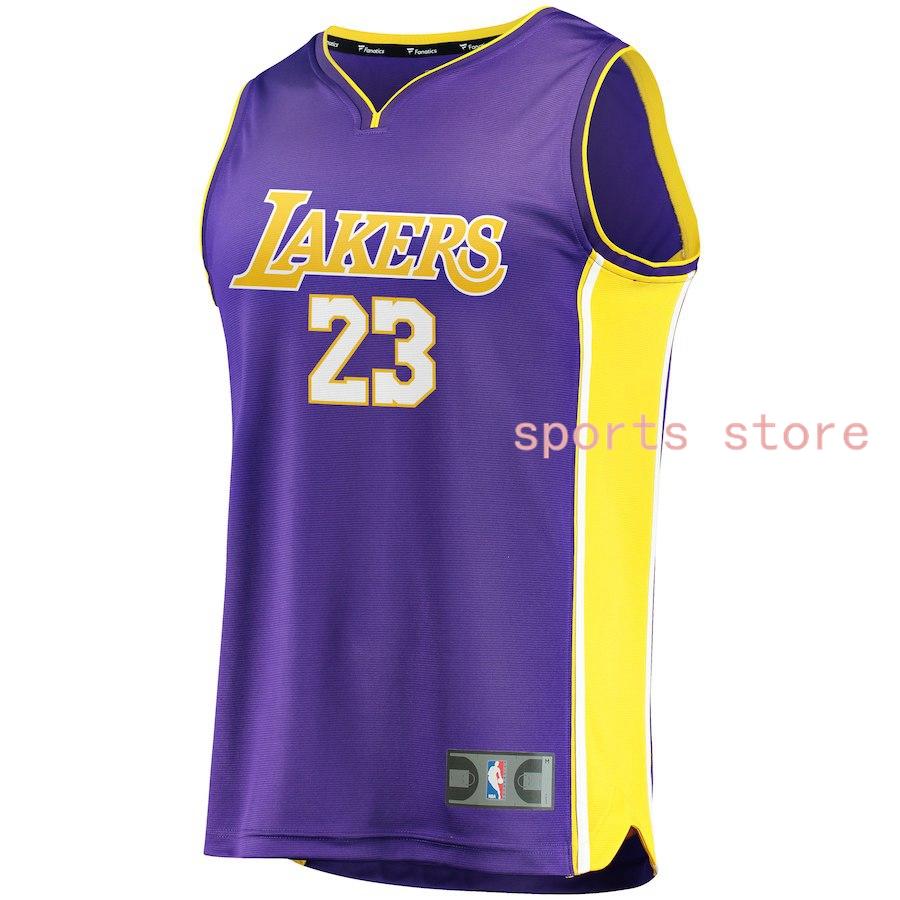 big sale f7cb3 75ad4 Buy Los Angeles Lakers LeBron James 23# Nike Purple Swingman ...