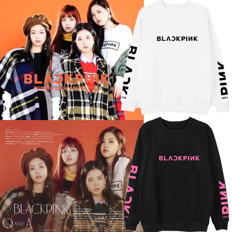 Buy XUANSHOW 2019 BLACKPINK Album Kpop Sweatshirt Hip Hop