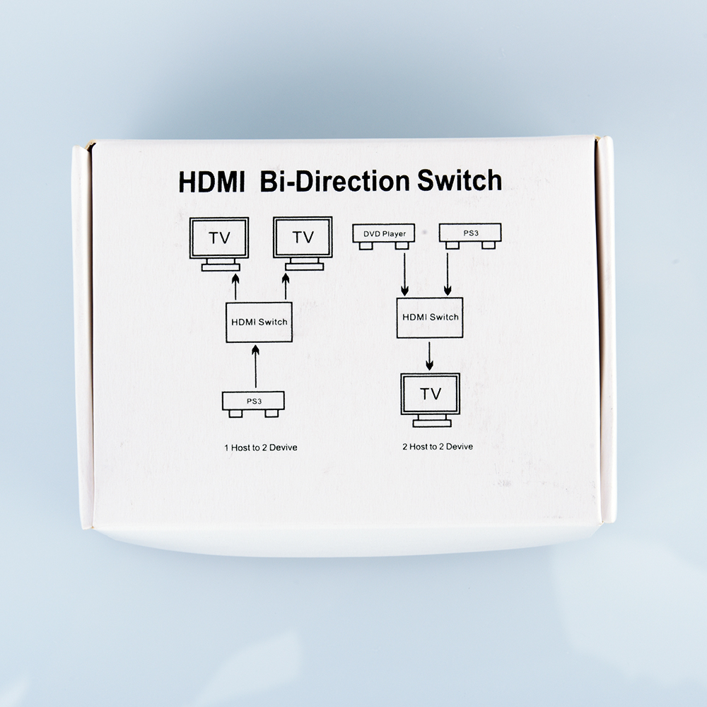 Buy HDMI two-in-one switcher hdmi2 into and out of the two-way HDMI