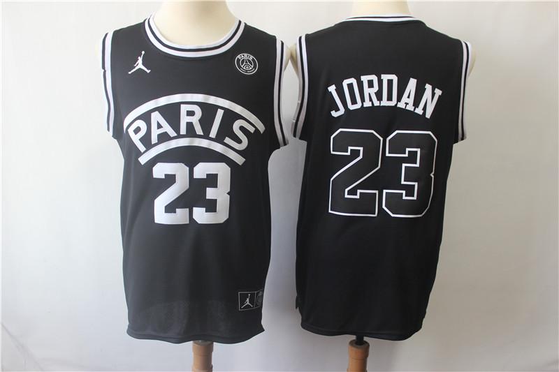 27d1b9e53 Buy Paris Saint Germain PSG  23 JORDAN Black Jerseys