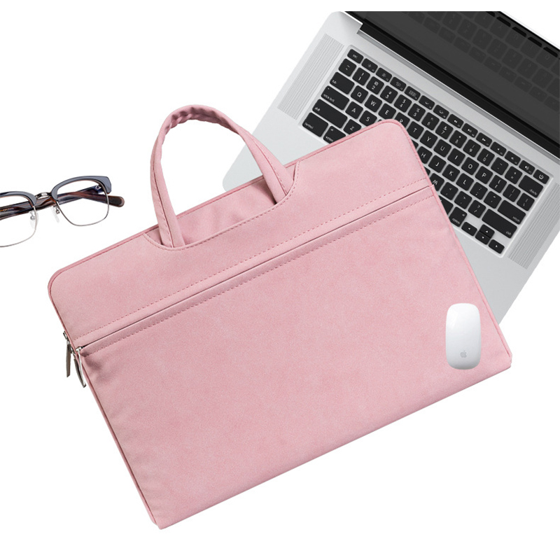 00f224553e8f Brand: anki. Applicable products: MacBook Air, MacBook Pro, Asus Material:  imitation leather. Type: computer bag. Color: light gray, dark gray, pink