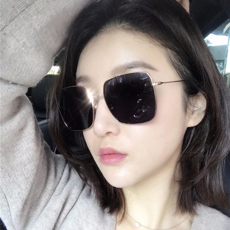 4c356e96375a Buy 2019 Oversize Square Sunglasses Men Women Celebrity Sun Glasses ...
