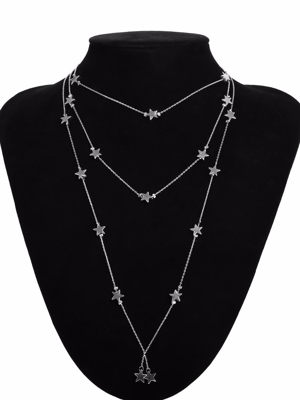 7377eadddd Material: Metal Pendant Size: 2mm*2mm. Gender: Women Color: Gold Long Necklace  Pendants: gold Choker necklace & Pendant Weight(Necklace & Pendant): 14.6g